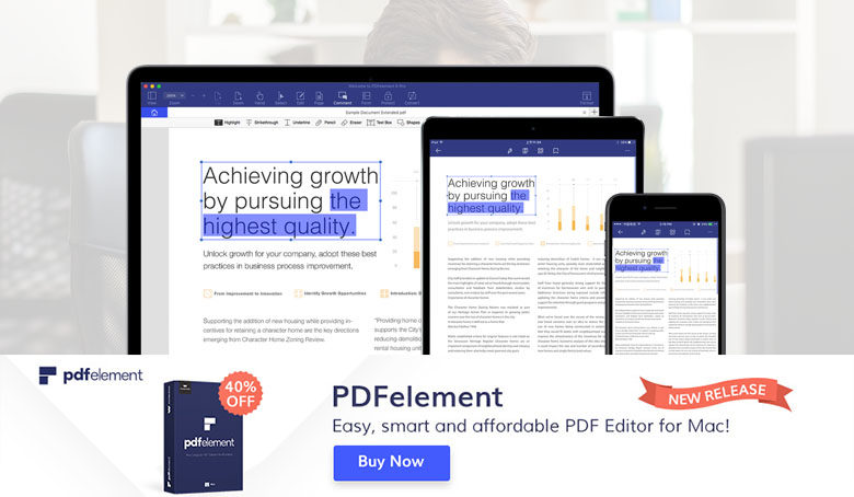 PDFelement Pro PDF Reader Editor for MacOS